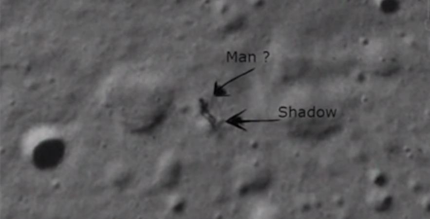 Google Moon Alieno