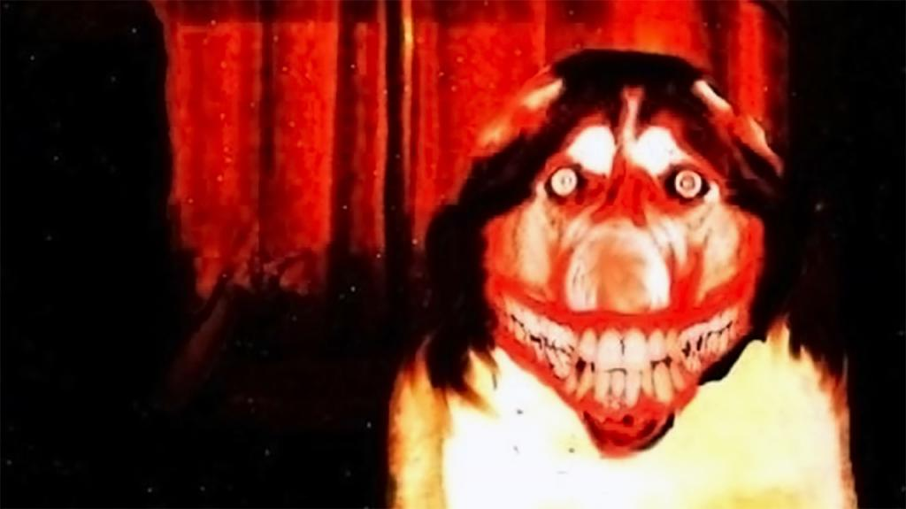 Smile Jpg Dog Creepypasta Horror Creepy