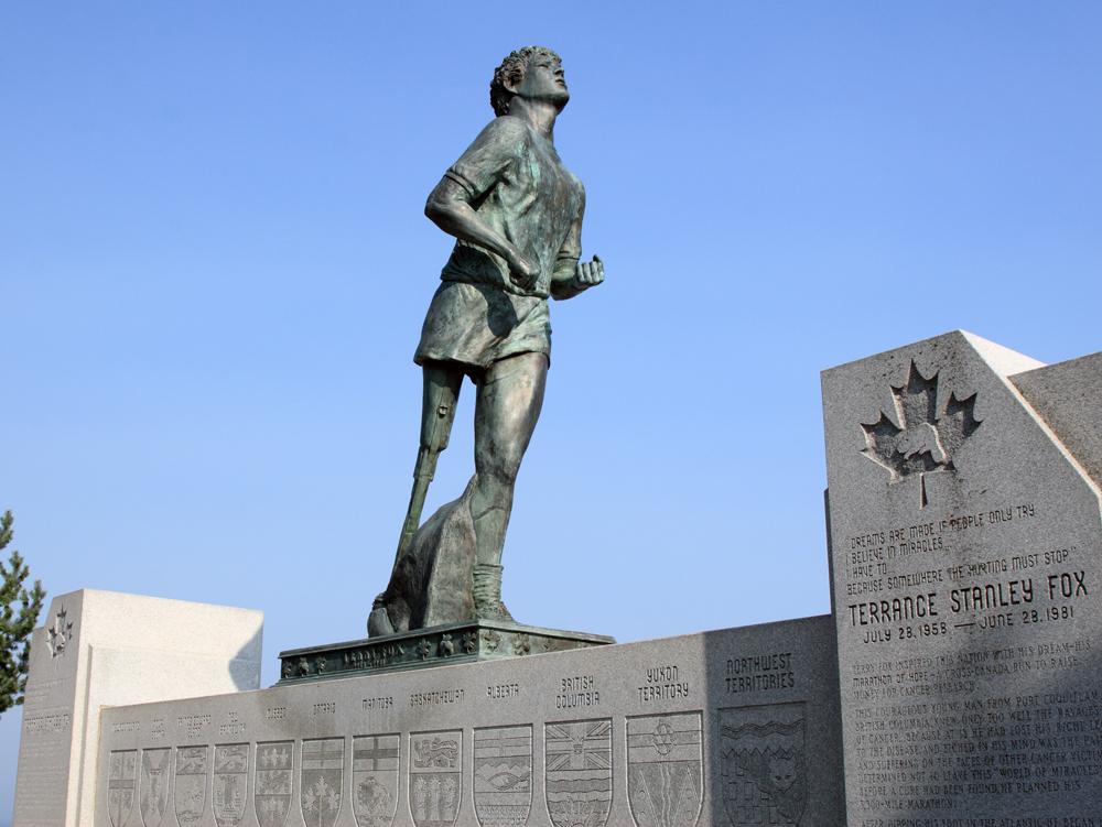 Statua in onore di Terry Fox