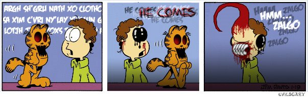 Zalgo Garfield