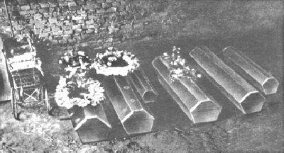 Bare delle vittime del massacro di Hinterkaifeck