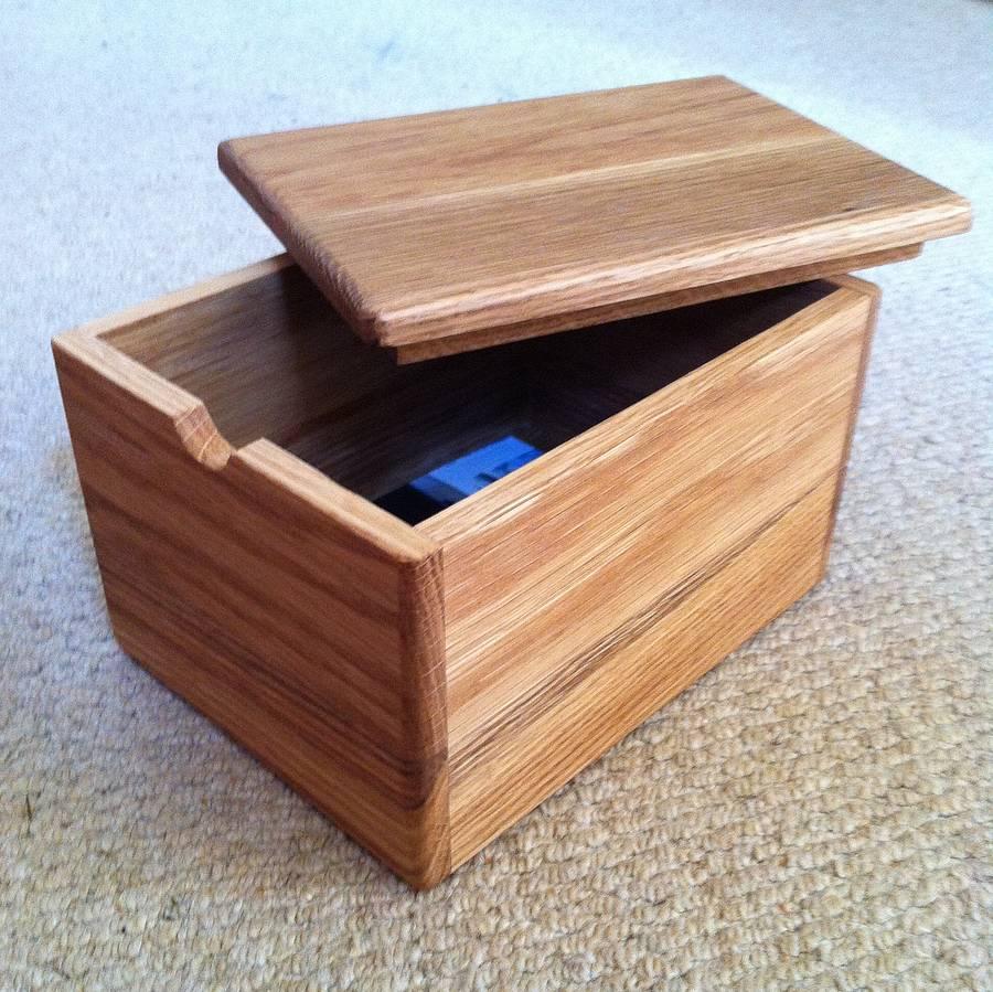 Capsula del tempo in legno