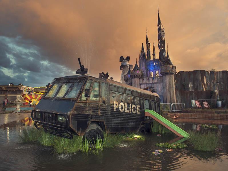 Dismaland Parco Divertimenti Banksy (2)