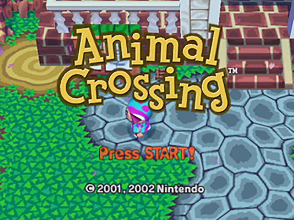 Animal Crossing - Main menu