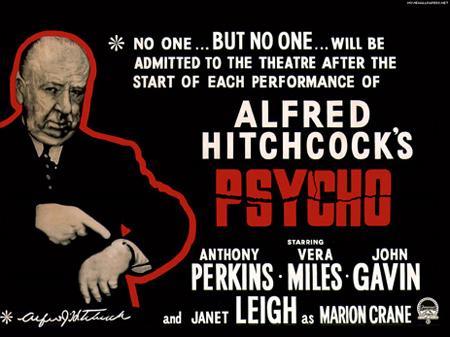Psycho - Poster film horror