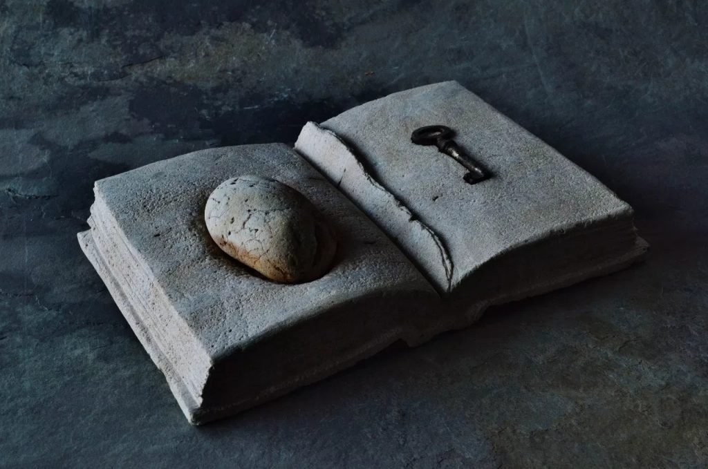 Paris Art Web Sculpture Hirotoshi Ito Torn Pages Of An Old Diary Limestone