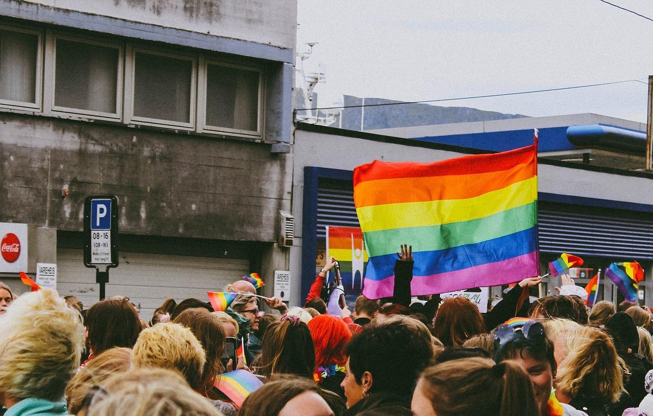 Gay Pride Stonewall Giugno Bandiera Arcobaleno