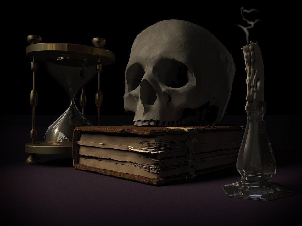 Sandman Mortality Skull And Crossbones Vanitas Memento Mori