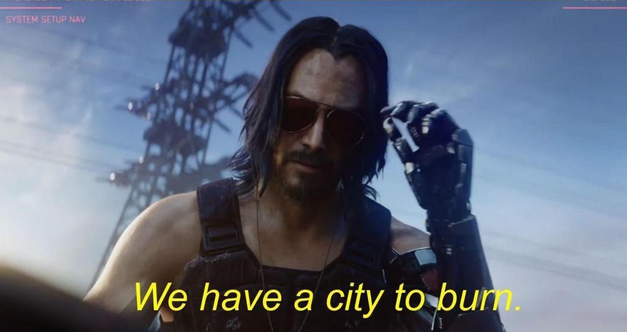 Creatonotos Falena Stranger Things We Have A City To Burn Keanu Reeves
